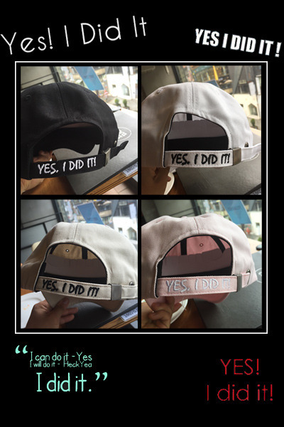 acc841. just do it cap [4color] -SOLD OUT-