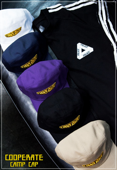 acc1160. cooperate camp cap [5color] (SOLD OUT)