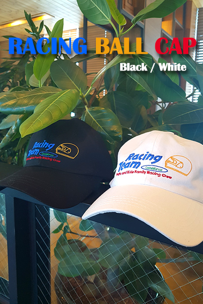 acc1010. racing ball cap [2color]