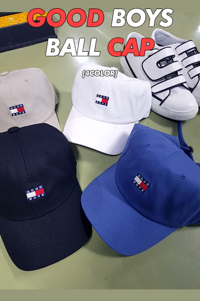 acc1024. good boys ball cap [4color] [SOLD OUT]