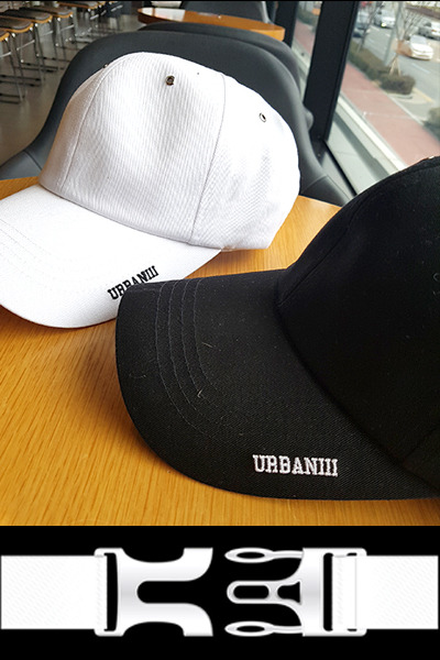 acc1054. Urban Buckle Cap [2color]