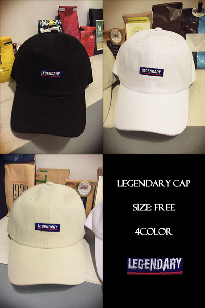 acc750. legendary cap [3color]